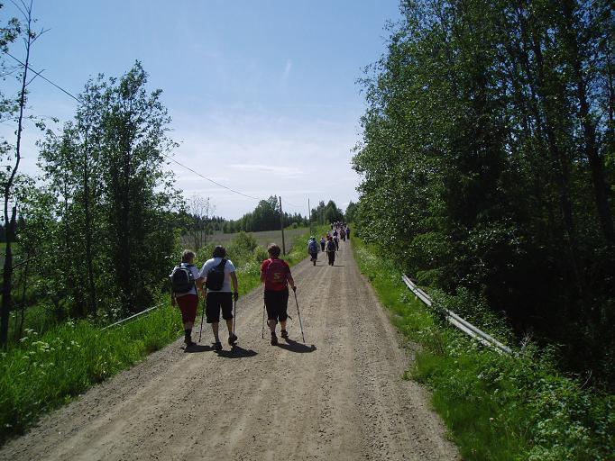 På vandring med Pilgrim Ångermanland