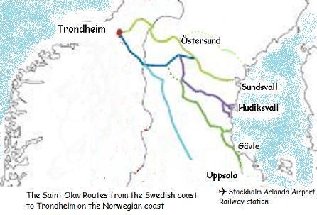 Mellannorrlands pilgrimsleder